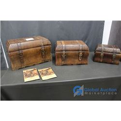 Set Of Three Stacking Boxes