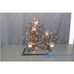 Decorative Tree Candle Holder