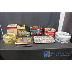 Assorted Tins and Boxes