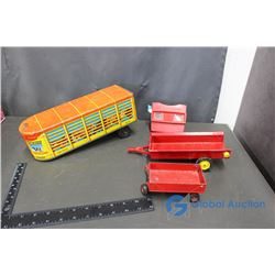 Vintage Toy Trailers and View Master