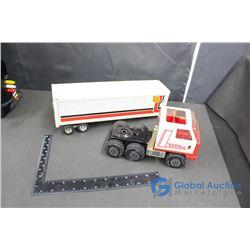 Tonka Canadian Merchants Semi Truck and Trailer