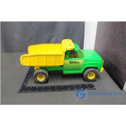 Tonka Green/Yellow Metal Dump Truck