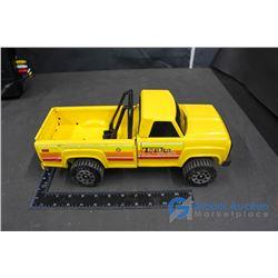 Tonka Yellow Metal Truck w/ Rollbar