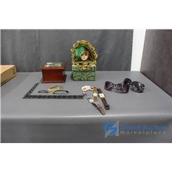 Jewelry Boxes and Contents