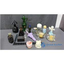 Various Avon Products, Candle Holders