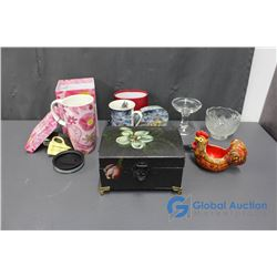 Traveling Cup and Holiday Cup in Gift Boxes, Decorative Storage Box, and Assorted