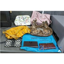 (4) Purses and (3) Wallets