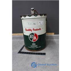 5gal. B/A #90 Gear Oil Can