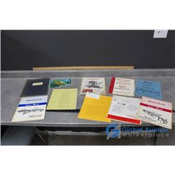 Operator Books, Manuals & (3) Morris Books