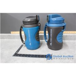 (2) New High Sierra Water Containers - 1.9L (64oz)
