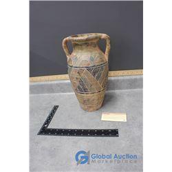 Original Hand Painted Finished Vase