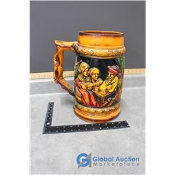 Vintage Ornamental Beer Stein From Holland