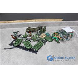 (2) Bags of Army Men, Vehicles & Accessories - BID PRICE x2