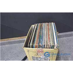 (50) Assorted Records - Kenny Rogers, The Oakridge Boys, Olivia Newton John