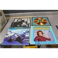 (50) Assorted Records - Elvis, Connie Francis, John Denver