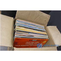 (50) Assorted Records - Neil Diamond, Shawn Cassidy, The Sound of Music Soundtrack