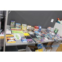 Assortment of PC Games, CDs & Cassettes
