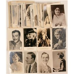 Old Hollywood Actors Grouping of Postcards (38)  (111719)