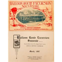Balloon Route Excursion Souvenir Book  (117303)