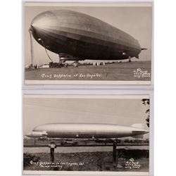 Graf Zeppelin in Los Angeles, Cal Blimp Landing, two RPCs  (119932)