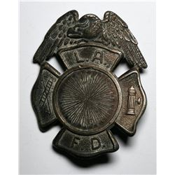 Los Angeles Fire Department Badge  (119756)
