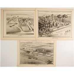 Thompson & West Lithographs of Sacramento County Scenes  (82457)