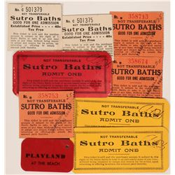 Admission Tickets to Sutro Baths, Playland at the Beach  (118872)