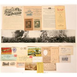 San Francisco Ephemera from 1800s-1900s  (118864)