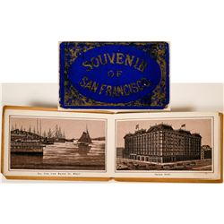 Souvenir of San Francisco Photo Advertising Book  (117300)