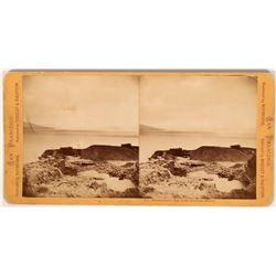 Stereoview Photo of Alcatraz Island c.1864  (118008)