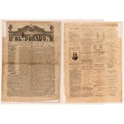 The El Dorado theatrical newspaper March 1869  (120227)