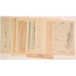 Advance Sheet maps of California c. 1920  (117837)
