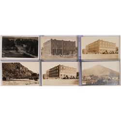 Set of six Real Photo Postcards, Hailey Idaho  (119557)