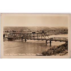 Syphon Bridge, King Hill, Idaho Real Photo Postcard  (117816)