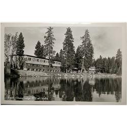 McCall, Idaho, Shore Lodge, Real Photo Post Card  (119942)