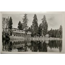 McCall, Idaho, Shore Lodge, Real Photo Post Card  (119942)