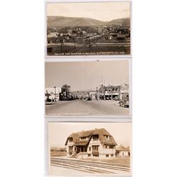 Montpelier, Idaho Real Photo Postcards- R.R. (Railroad) Club House, Main Street (117985)