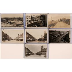 Nampa, Idaho Real Photo Postcards (lot of 7)  (117822)