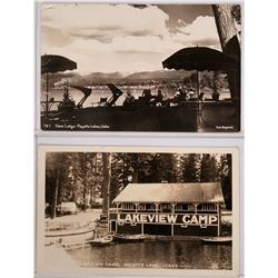 Landscape photo postcards, Payette Lake, Idaho  (117927)
