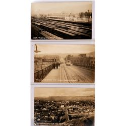 Pocatello, Idaho Real Photo Postcards  (117924)