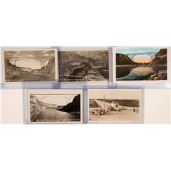 Twin Falls Jerome Bridge, Real Photo Postcards - Set of 5 various locations  (117780)