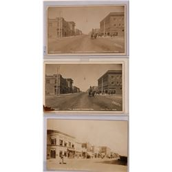 Twin Falls, Idaho Set of three Real photo postcards; Early 1900s  (117982)