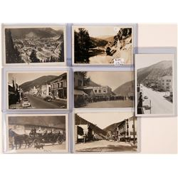 Wallace, Idaho Real Photo Postcards (117823)