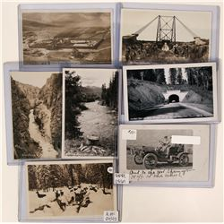 Idaho -Real Photo Postcards - set of 5; various northern Idaho   (117973)