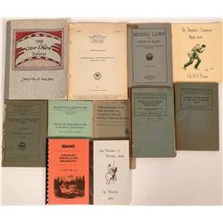 Idaho History Library: Native Americans and Mining Books  (116843)