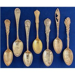 Illinois and Indian Spoons (7)  (80624)