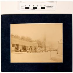 Street Scene Mammoth Plate of Boston  (118246)