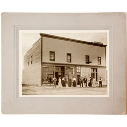 Photo of Butte Courier Newspaper Office  (57524)