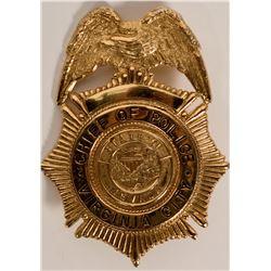 Virginia City Police Badge  (117576)