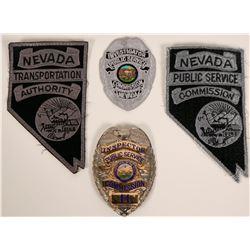 Obsolete Law Enforcement Badge  (115991)